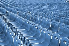 Free Rows Of Seats Royalty Free Stock Image - 4431256