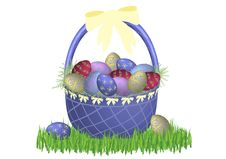 Free Easter Basket Classic 2 Stock Image - 4431471