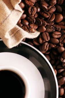 Free Coffee In A Cup Royalty Free Stock Photo - 4431485