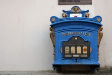 Free Old German Mailbox Stock Photos - 4431533