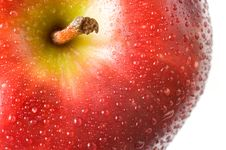 Free A Fresh Red Apple Royalty Free Stock Images - 4431769