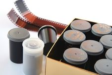 Free Film Negatives. Royalty Free Stock Image - 4432486