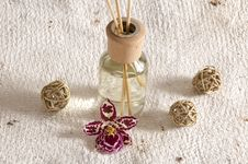 Aroma Therapy Items Royalty Free Stock Images