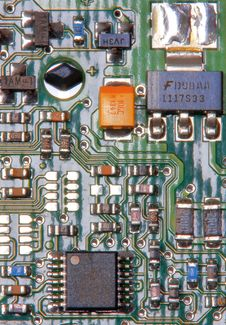 Free Electronic Board Stock Photography - 4432972