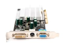Free PC Hardware Video Card Royalty Free Stock Photo - 4433495
