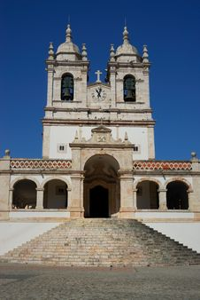 Free Old Portuguese Church Royalty Free Stock Photography - 4433887