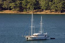 Free Sailing Boat Fethiye Stock Photography - 4433902