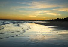 Free Sunset In Bournemouth Stock Photos - 4433913