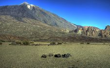 Free Teide Scape Stock Image - 4433981