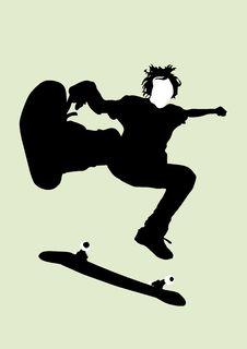 Free Skateboarder Royalty Free Stock Photos - 4434188