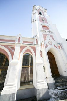 Free Lutheran Church Royalty Free Stock Image - 4434266