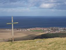 Free The Cross On The Hill Stock Photos - 4435023