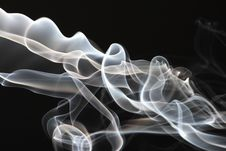 Free Streams Of A Smoke Stock Photo - 4435060