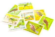 Free Vietnam Post Stamps Royalty Free Stock Image - 4435576