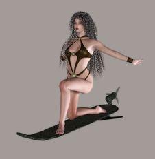 Free Sexy Warrior Stock Image - 4435591