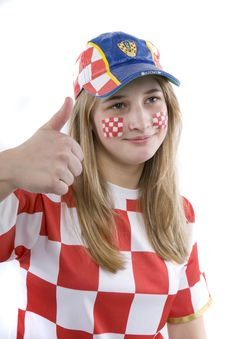 Free Croatia Fan Stock Photos - 4435693