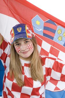 Free Croatia Fan Stock Photos - 4435713