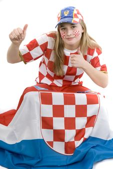 Free Croatia Fan Stock Photography - 4435802