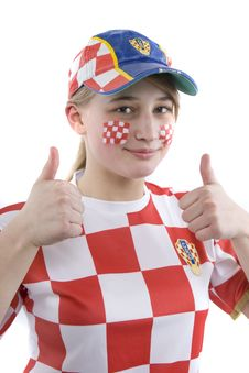 Free Croatia Fan Stock Photos - 4435893