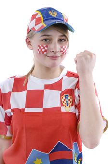 Free Croatia Fan Stock Photos - 4435903