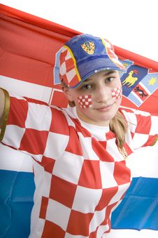 Free Croatia Fan Stock Photos - 4436023