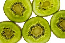 Free Slices Of Kiwi Stock Photo - 4436320