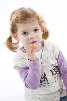 Free Cute Little Girl Royalty Free Stock Photo - 4436365