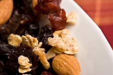Free Trail Mix Royalty Free Stock Image - 4436606