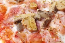 Closeup Of Italian Pizza Stock Image