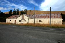 Free Sheep Barn New Zealand Stock Image - 4437161