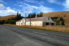 Free Sheep Barn New Zealand Royalty Free Stock Photo - 4437215