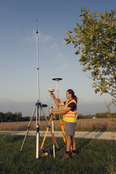 Free Surveying During Spring Time Royalty Free Stock Images - 4437889