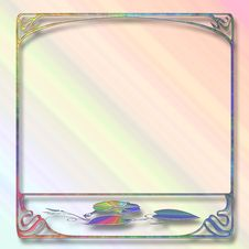 Free Abstract Pastel Frame Stock Images - 4438294