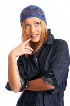 Free Glamor Girl Posing Stock Images - 4438774