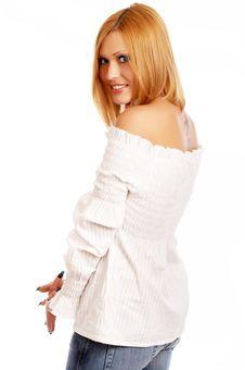 Free Glamor Girl Posing Stock Images - 4438874