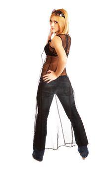 Free Glamor Girl Posing Stock Images - 4438924