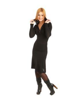 Free Glamor Girl Posing Stock Photos - 4438963