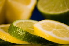 Free Lemon Lime Arrangement Stock Images - 4438994