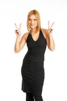Free Glamor Girl Posing Stock Photos - 4439053