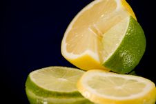 Free Lemon Lime Arrangement Stock Photos - 4439063