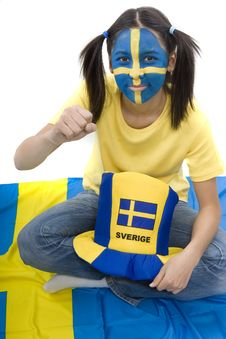 Free Sweden Fan Stock Photos - 4439283