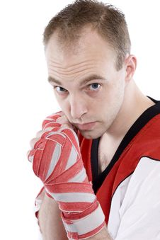 Free Kick Boxing Stock Images - 4439464
