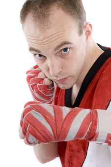 Free Kick Boxing Royalty Free Stock Images - 4439499