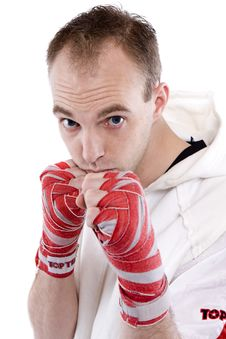 Free Kick Boxing Stock Images - 4439504