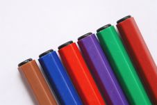 Felt-tip Pens Stock Image