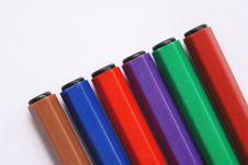 Free Felt-tip Pens Stock Image - 4439671