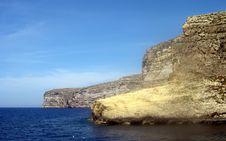 Free Rugged Coastline, Gozo, Malta Stock Photos - 4439793