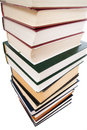 Free Pile Of Books Isolated On A White Stock Photography - 4445442