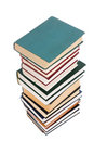 Free Pile Of Books Isolated On A White Royalty Free Stock Photos - 4445458