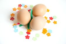Free Easter Fun Eggs Royalty Free Stock Photo - 4440105